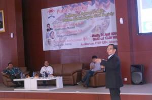 Veri Muhlis Arifuzzaman Public Lecture Semangat Agama Publik Dalam Membangun Civil Society FISIP UIN Syarif Hidayatullah Jakarta