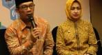 Ridwan Kamil, dan Airin Rachmi Diany (Sumber infobandung)